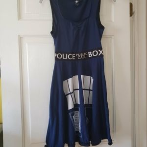 Doctor Who TARDIS cosplay dress  (with pockets!!)
